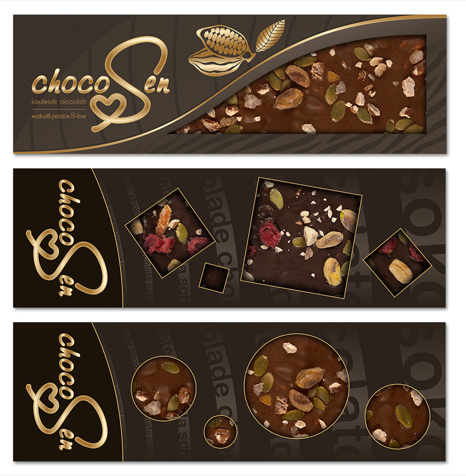 chocolate packages